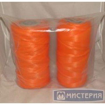 Сетка-рукав в рулоне (500м) оранжевая П/П 1 рул /упак 2 рул/кор