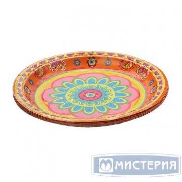 Тарелка  d=230 мм дизайн Пикник коллекция 10шт/уп 35уп/кор