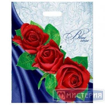 Пакет (мешок) проруб. ПВД 47х38см, 60мкм, Blue rose 50шт./уп 1000 шт./кор