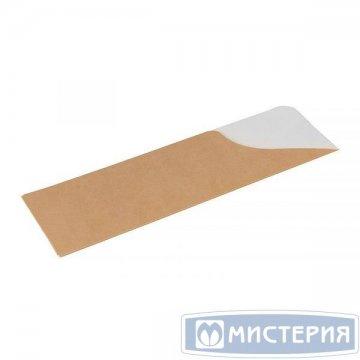 Конверт (пакет) для палочек/приборов ECO POCKET E* Pure Kraft, размер 60х180 мм, крафт 2 100 шт/уп