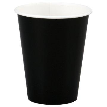 200/250мл Стакан бумажный Черный (50шт/уп) Д80мм (50/1250)