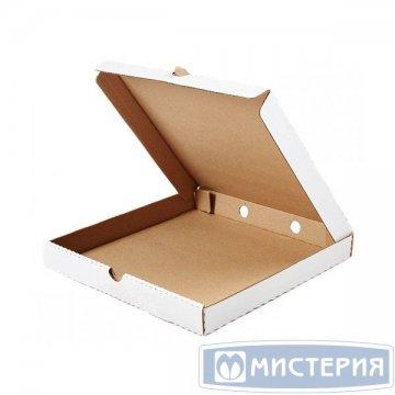 Коробка д/пиццы, 250х250х40мм, бурый, картон 50 шт/упак 50 упак/кор