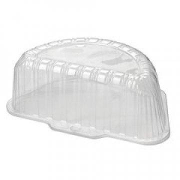 Упаковка д/половины торт 1,4кг, внеш. 270х162х104мм, внутр. 230х115х92мм, прозрачная, ОПС 270шт/кор
