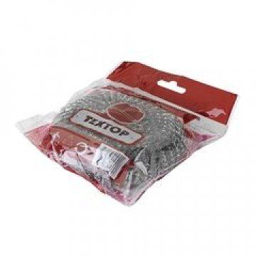 Губка (мочалка) металлическая 40 гр 1шт/уп 120шт/кор
