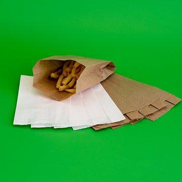 Пакет бумажный VB 300*140*60 крафт б/п 1400шт/кор