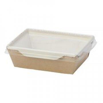 Коробка DoEco 220х160х55мм ECO OpSalad 1000, (Салатник), коричн. 150 шт/уп 150 шт/кор