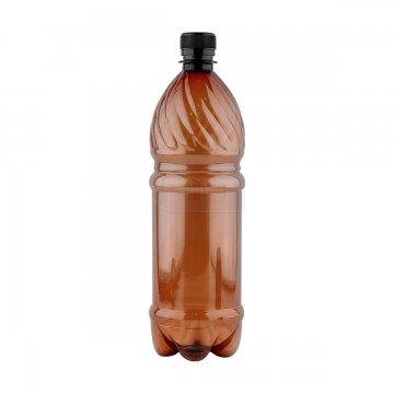 Бутылка коричневая из ПЭТ 1.0 дм3 (упаковка 120шт)