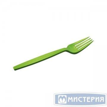 Вилка 158мм, зелён., кукурузный крахмал 50 шт./уп 20 упак/кор